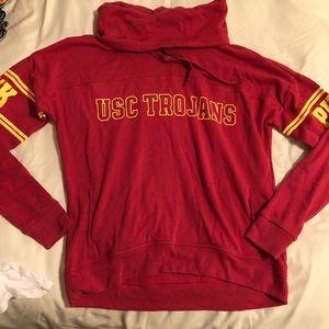 VS PINK USC hoodie